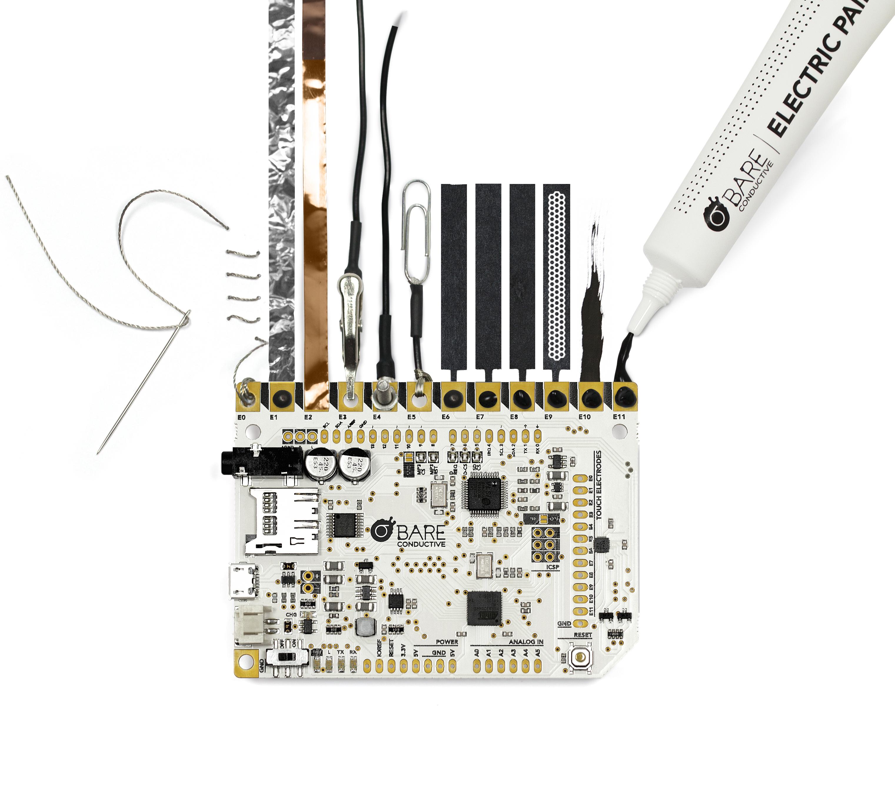 TouchBoard connectedBareConductiveLtd.2015