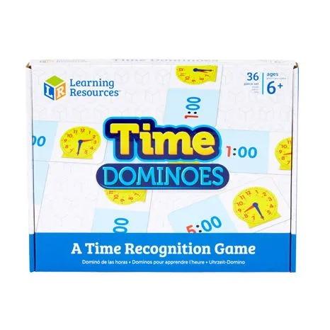2528uk teaching time dominoes al 1
