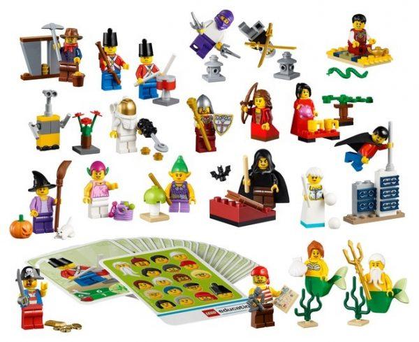 minifiguras de fantasía de LEGO