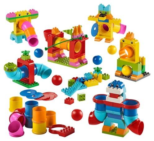 tubos de lego