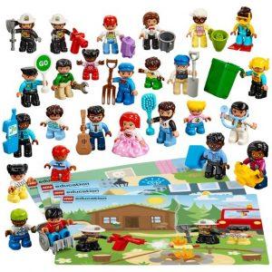personas de lego