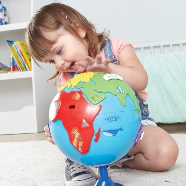 7735 puzzle globe girl 2 1 2