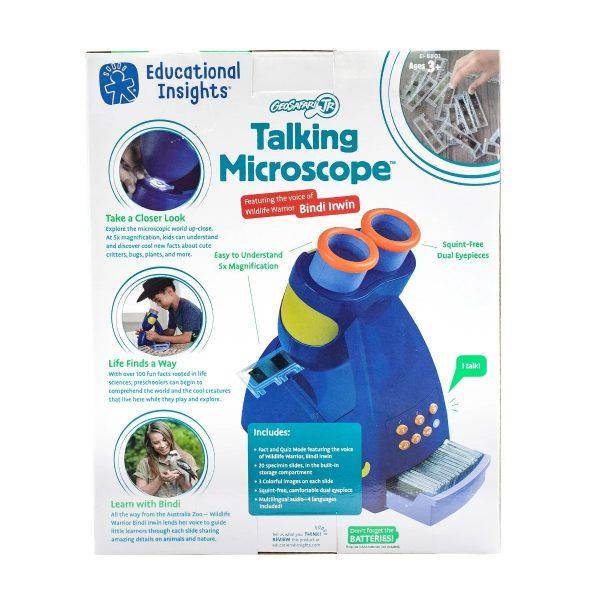 8801 gsjr talking microscope pkg