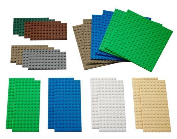 Placas Lego