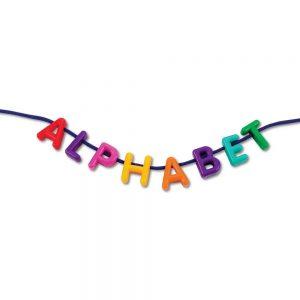 cordones con alfabeto